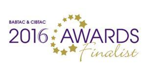 BABTAC 2016 Awards Finalist
